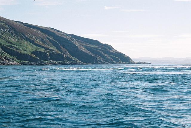 Corryvreckan Whirlpool, photo by Russ Baum, CC BY-SA 2.0